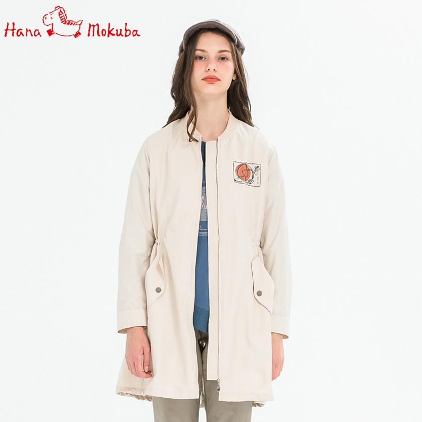 【Hana Mokuba】花木馬日系女裝風衣外套