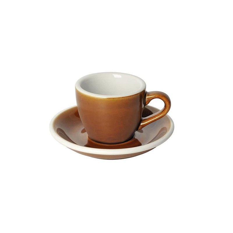LOVERAMICS 愛陶樂 蛋形系列 80ml 十色 濃縮咖啡杯盤組 職人系列