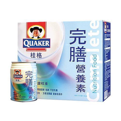 桂格完膳營養素250ml X6罐【愛買】