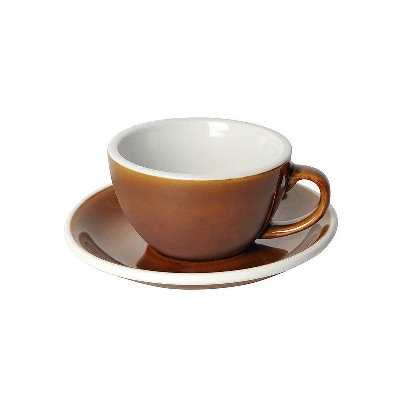 LOVERAMICS 愛陶樂 蛋形系列 200ml 九色 卡布杯盤組 職人色系