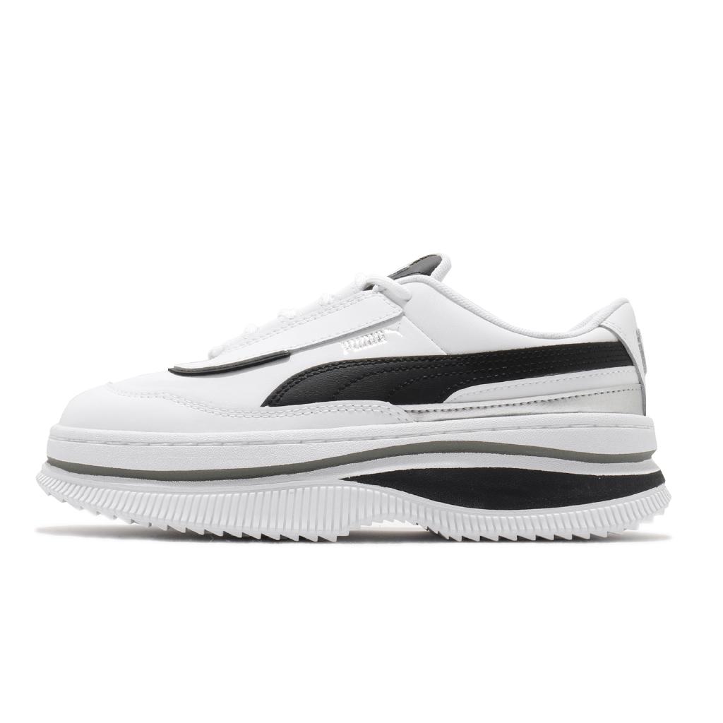 Puma 休閒鞋 Deva Mono Pop Wns 白 黑 厚底 流行 女鞋 【ACS】 373919-01