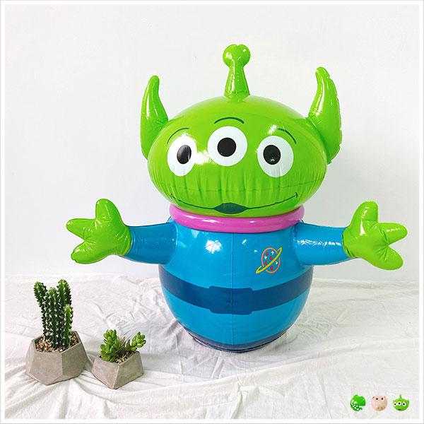 天藍小舖-迪士尼系列玩具總動員款人物造型充氣不倒翁玩具-共3色-$490【A11110686】