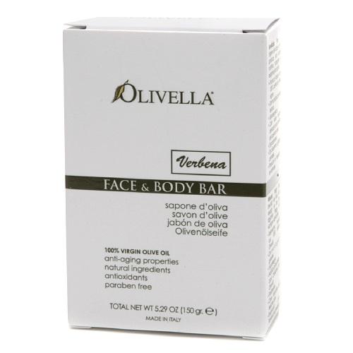 Olivella橄欖油潔膚皂-馬鞭草150g