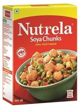 印度素肉球  Nutrela Soya Chunk (Vadi) 200gm
