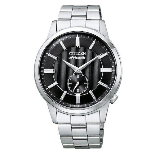 【CITIZEN】星辰 沉穩紳士 經典機械錶 NK5000-98E 銀/黑 41mm