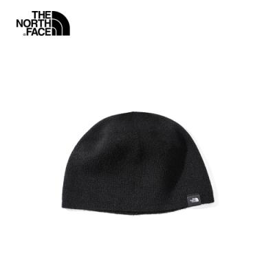 The North Face北面男女款黑色針織毛帽|4SIFJK3