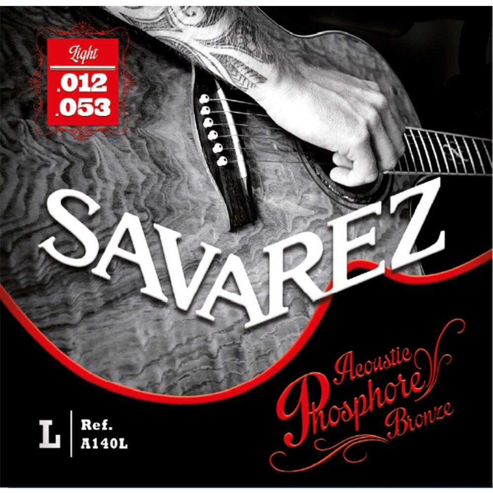 Savarez A140L 磷青銅民謠木吉他弦 12-53