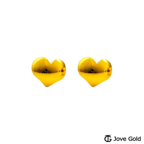 jove gold 漾金飾  天真黃金耳環