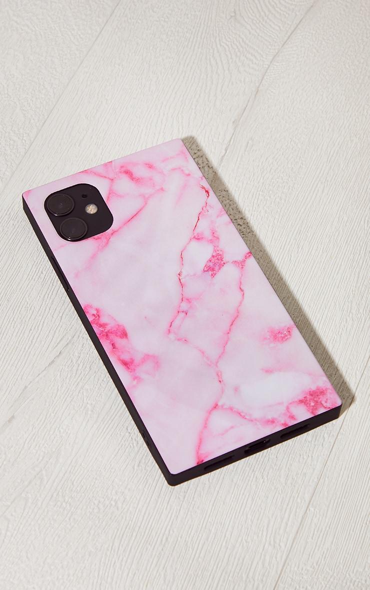 Idecoz Blush Marble Square Iphone 11 Case