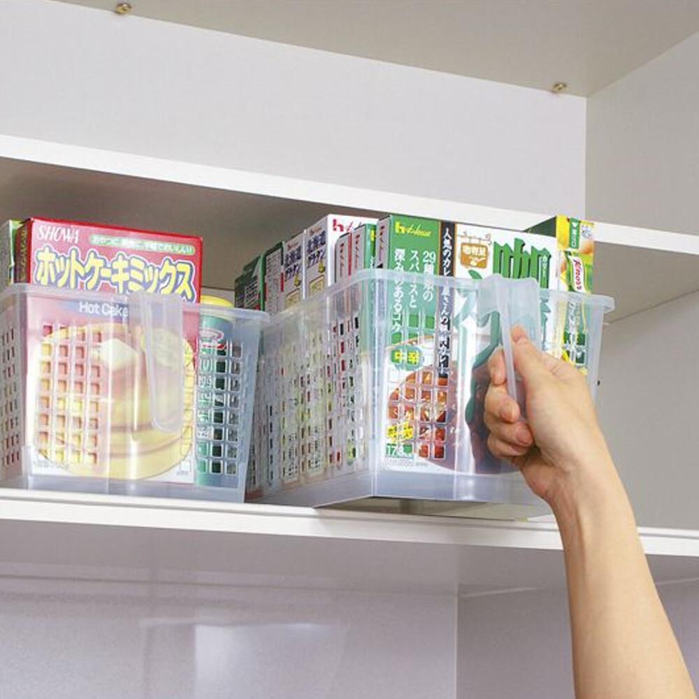 日本製造sanada高位層板專用-手持收納籃4入裝