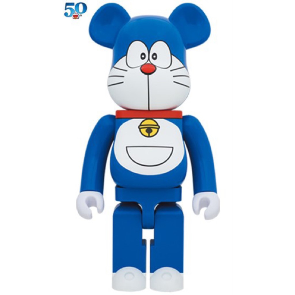 BE@RBRICK ドラえもん 哆啦A夢 小叮噹 DORAEMON (NO MOUTH VER) 1000% itn