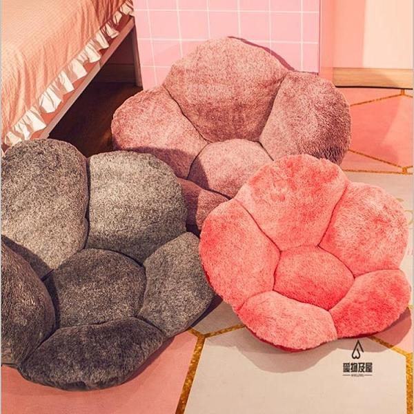 坐墊家用臥室地上懶人墊毛絨日式大號榻榻米【愛物及屋】