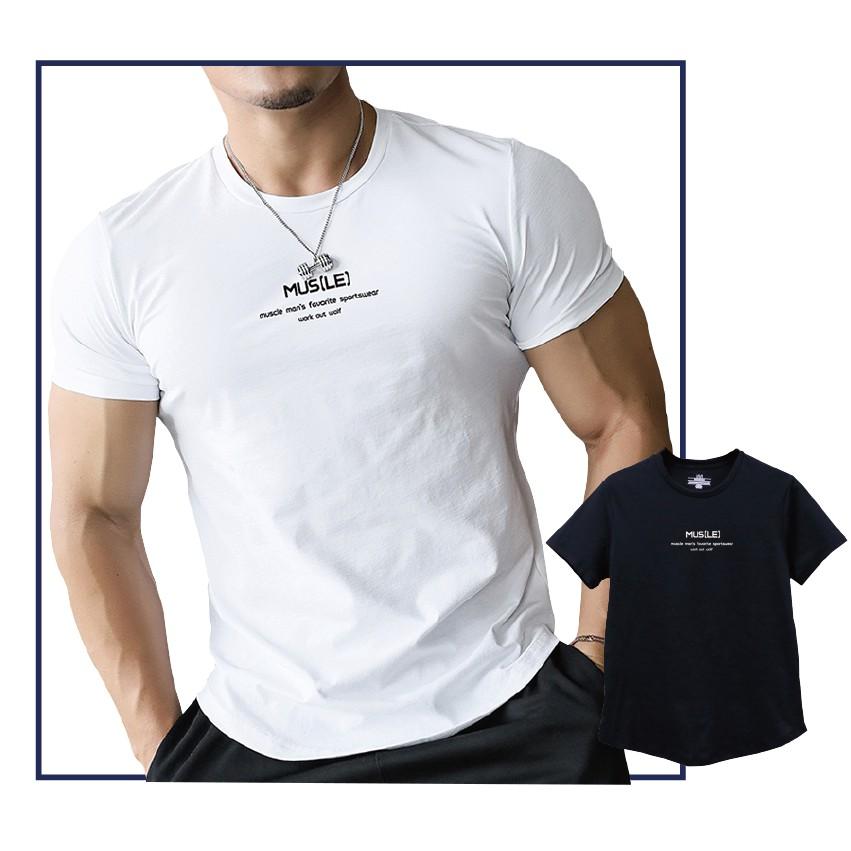 短T MUSLE 圓領短袖T-shirt T恤 短袖