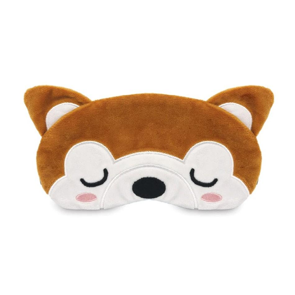 Travelmall mini 3D 兒童透氣護理舒適旅行眼罩 柴犬