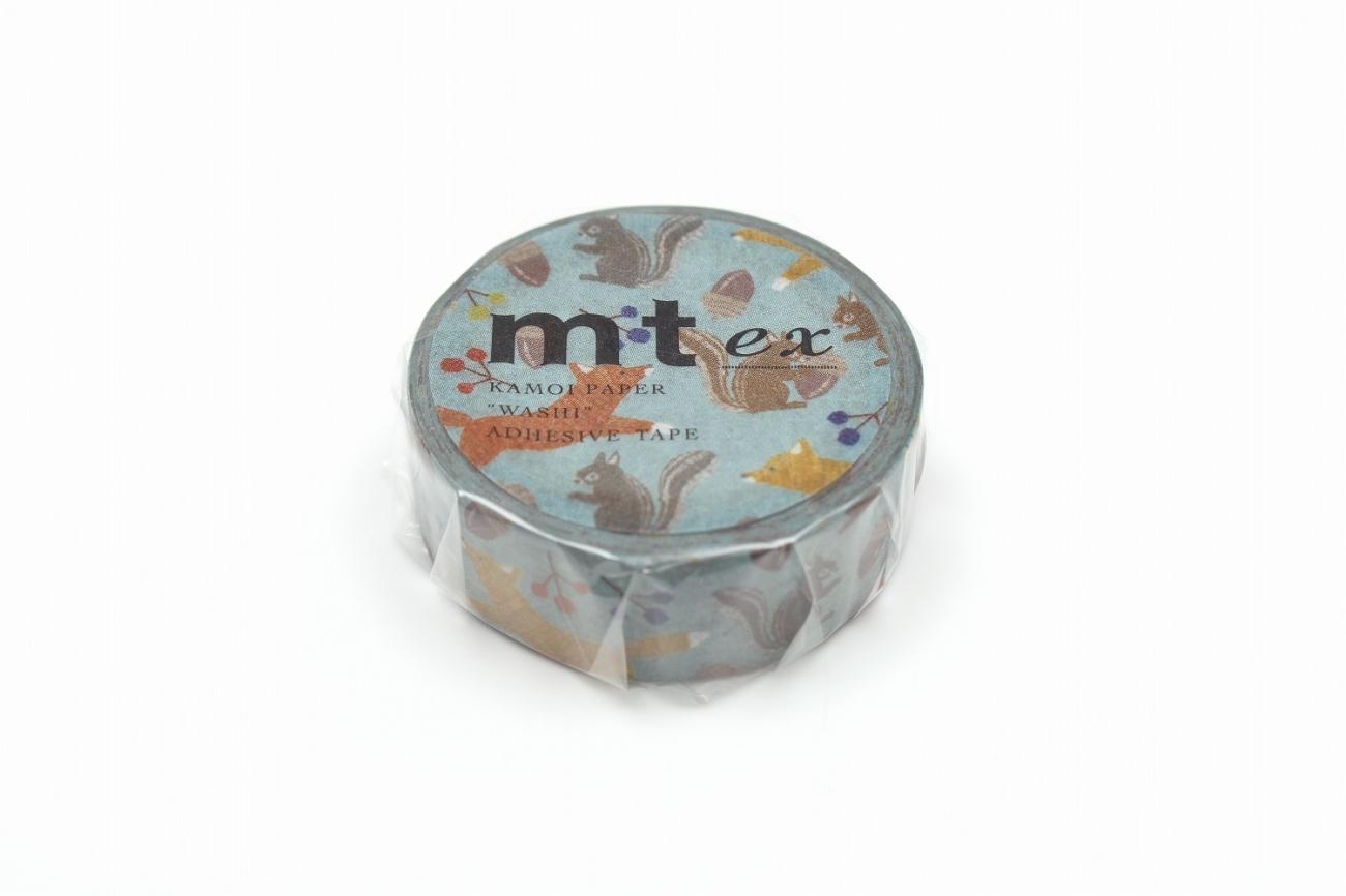 mt Masking Tape/ Mt Ex/ Embroidery Fox & Squirrel eslite誠品