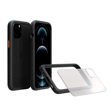 OVERDIGI iPhone 12/iPhone 12 Pro鑽石框二用殻-(黑) 6.1吋