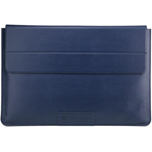 【SwitchEasy】EasyStand 13吋 MacBook Air/Pro 手工皮革護套/立架 (藍色)