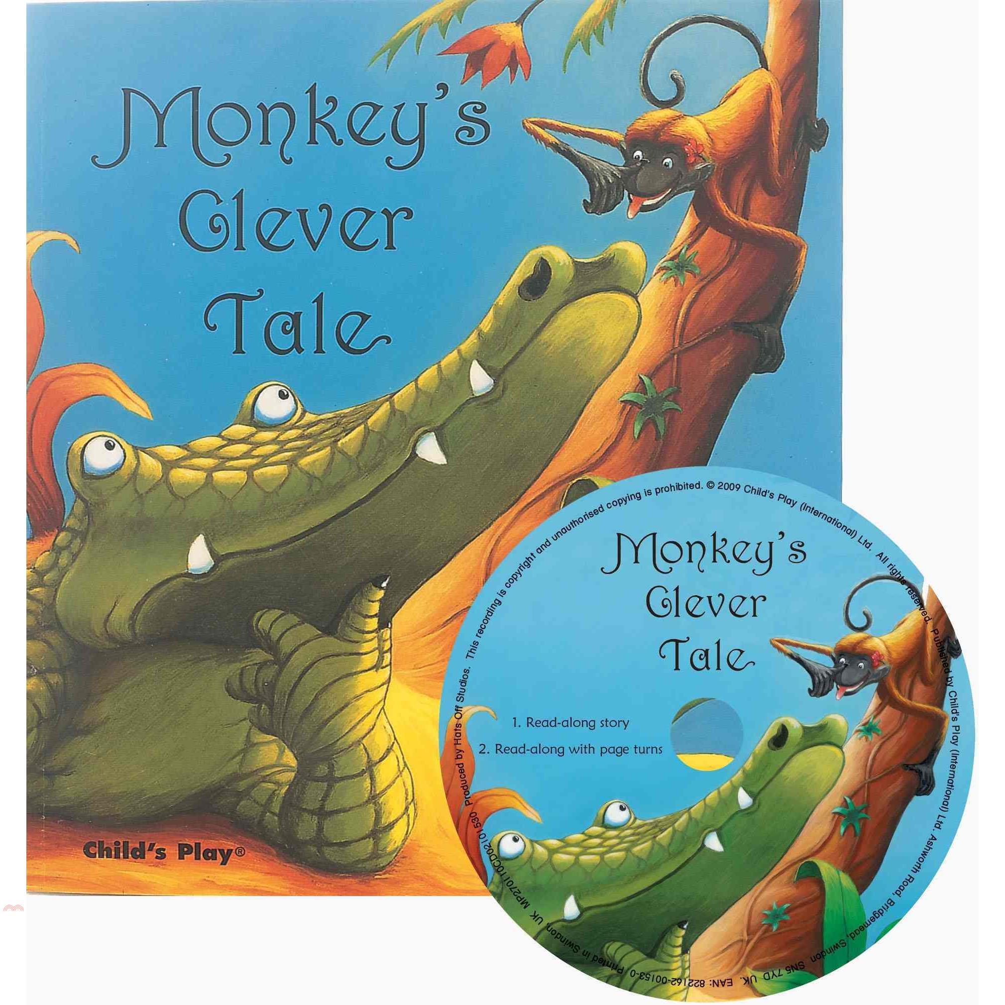 Monkey's Clever Tale (1平裝+CD)【三民網路書店】(有聲書)[75折]