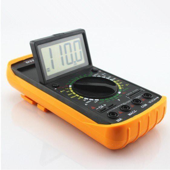 【保固一年】專業頂規級 DT-9208A手持式數字 電子式數位式 三用 電壓電阻電子式三用電錶 數位式 袖珍型數字 電表