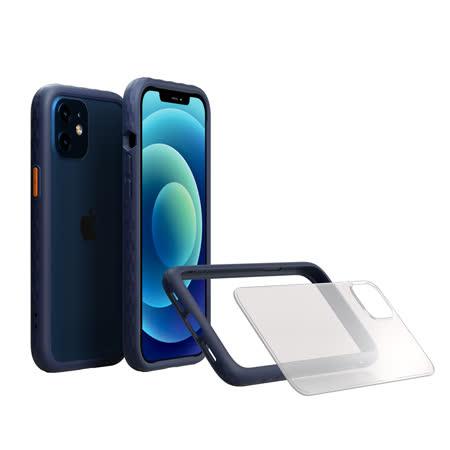 OVERDIGI iPhone 12 mini鑽石框二用殻-(藍) 5.4吋