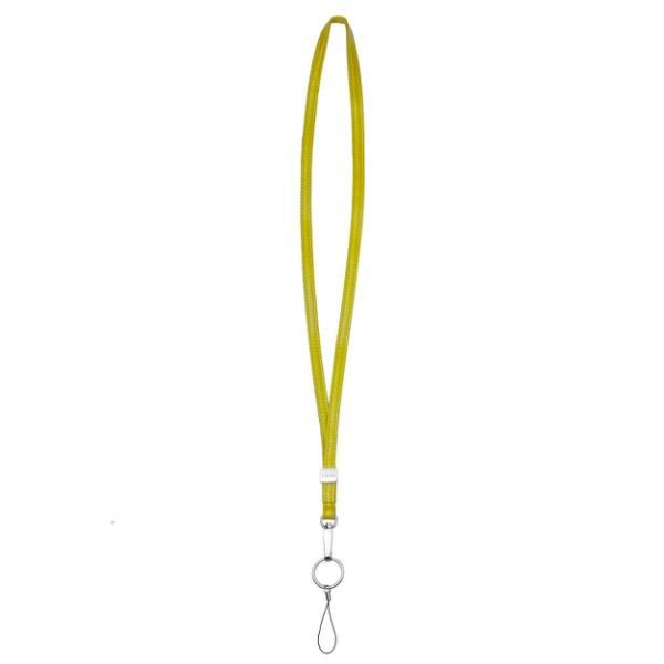 lievo accessory - 小羊皮頸繩黃