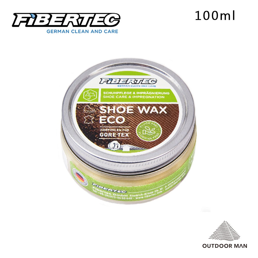 [Fibertec] Shoe Wax Eco 保養劑 100ml (SWE100)