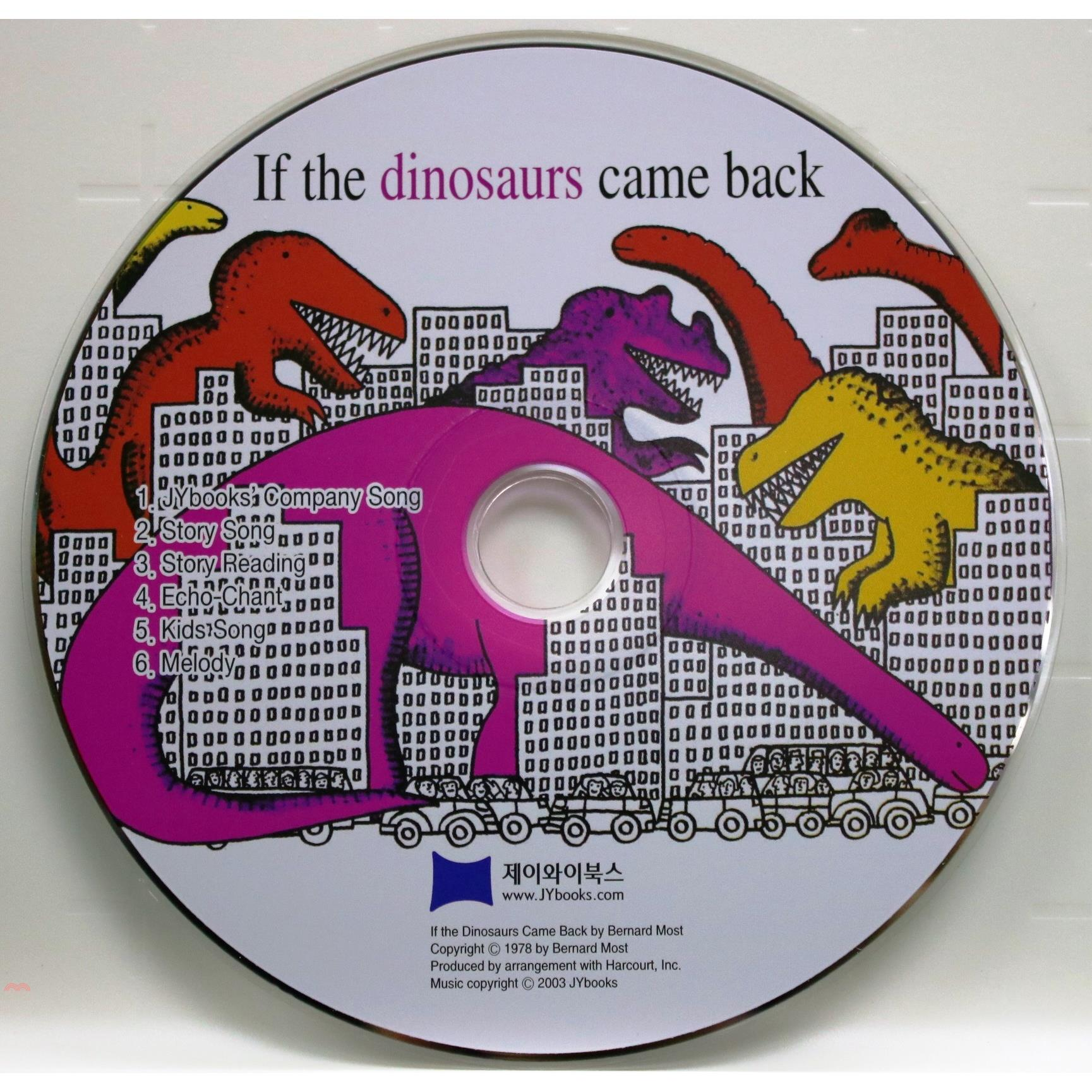 If the Dinosaurs Came Back (1 CD only)(韓國JY Books版)【三民網路書店】