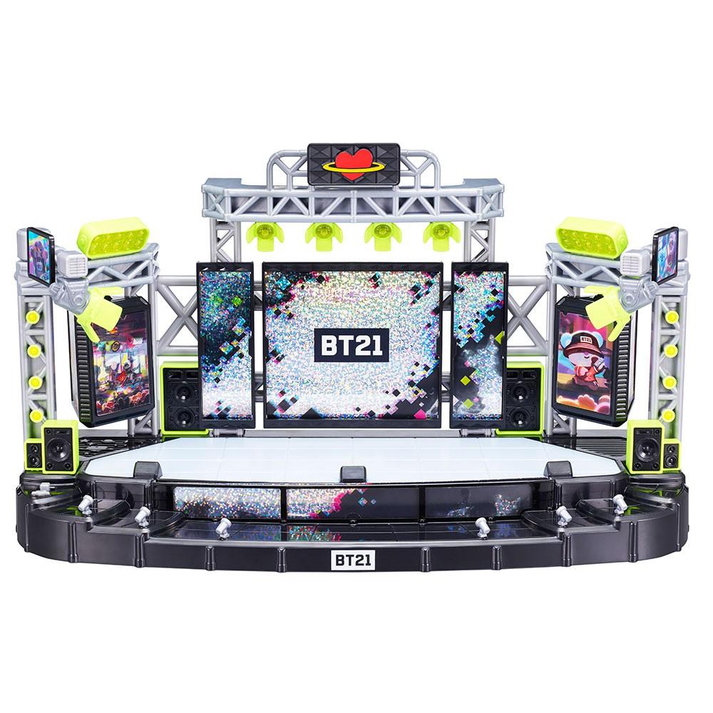 YOUNG TOYS 宇宙明星BT21 超級巨星公仔組 BTS搖滾舞