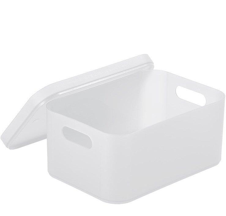 11.11 面膜收納盒帶蓋 防塵裝小東西的盒子放雜物