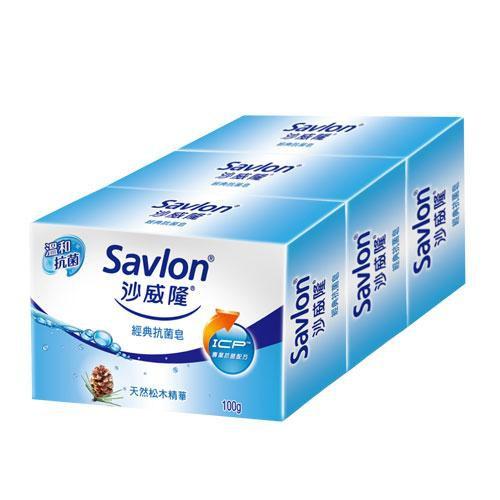 沙威隆香皂100g X3【愛買】