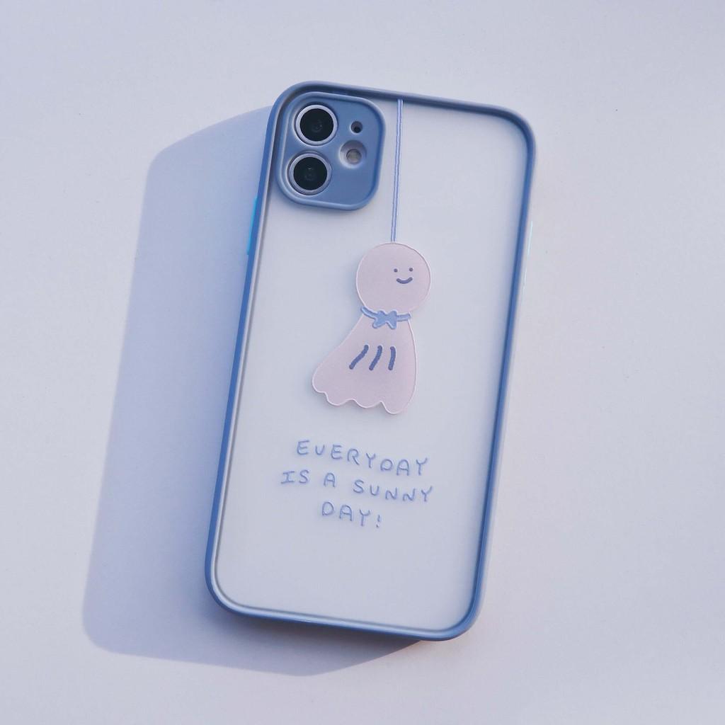 馬卡龍防摔手機殼 晴天娃娃|適用 iPhone 12 Pro Max 系列現貨 今日下單明天出貨【方坊】