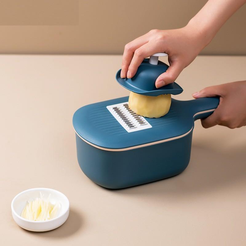 切片器 廚房土豆絲切絲器多功能家用蔬菜擦絲切花插絲切片機刨絲切菜神器