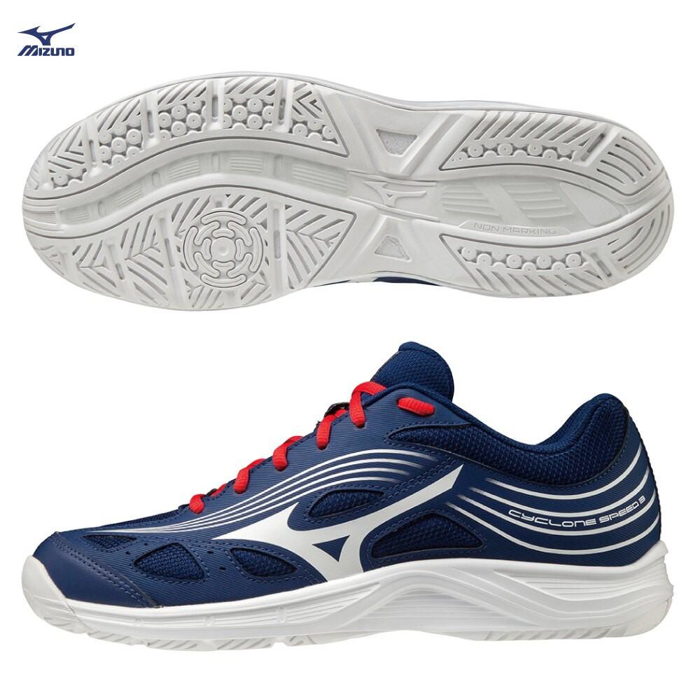 MIZUNO CYCLONE SPEED 2 男鞋 女鞋 排球 手球 橡膠 止滑 藍【運動世界】V1GA218064