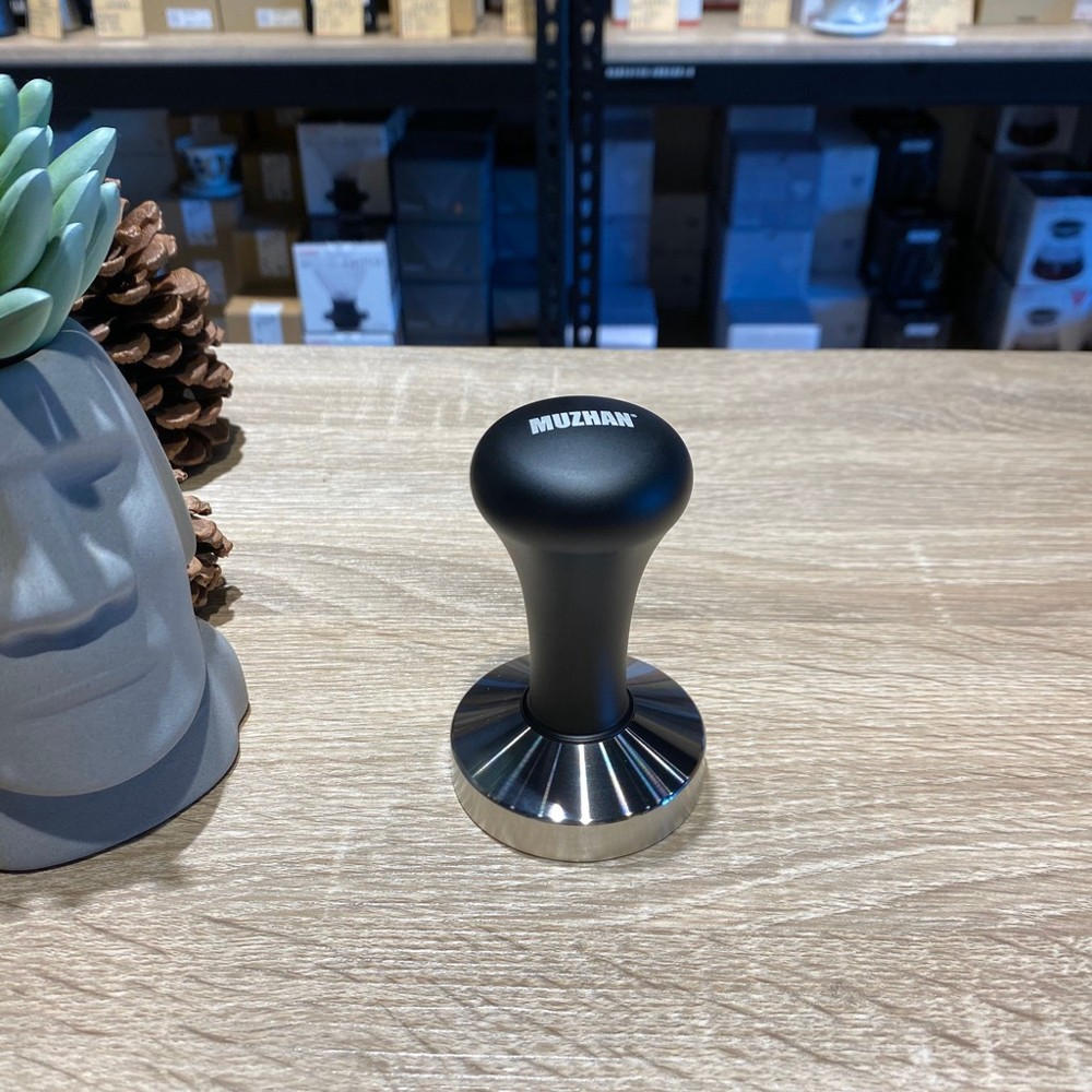 58mm/51mm不銹鋼填壓器 不銹鋼壓粉器 義式咖啡機專用 台灣製造 霧黑/不銹鋼色