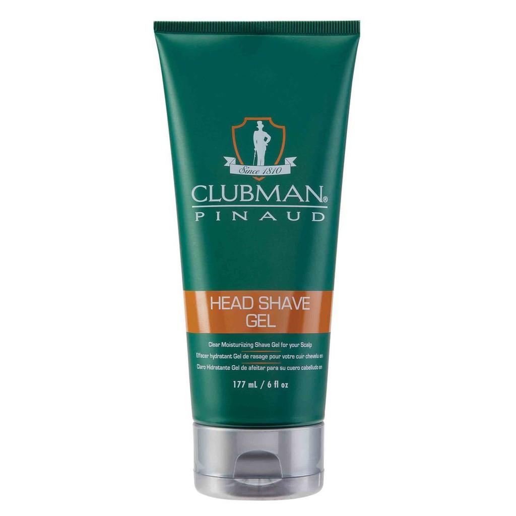 Clubman - 專業刮鬍凝膠(保濕抗敏感)刮鬍露刮鬍膠 刮鬍膏 刮鬍泡 刮鬍皂 剃鬚膏剃鬚泡刮鬍乳 刮鬍霜