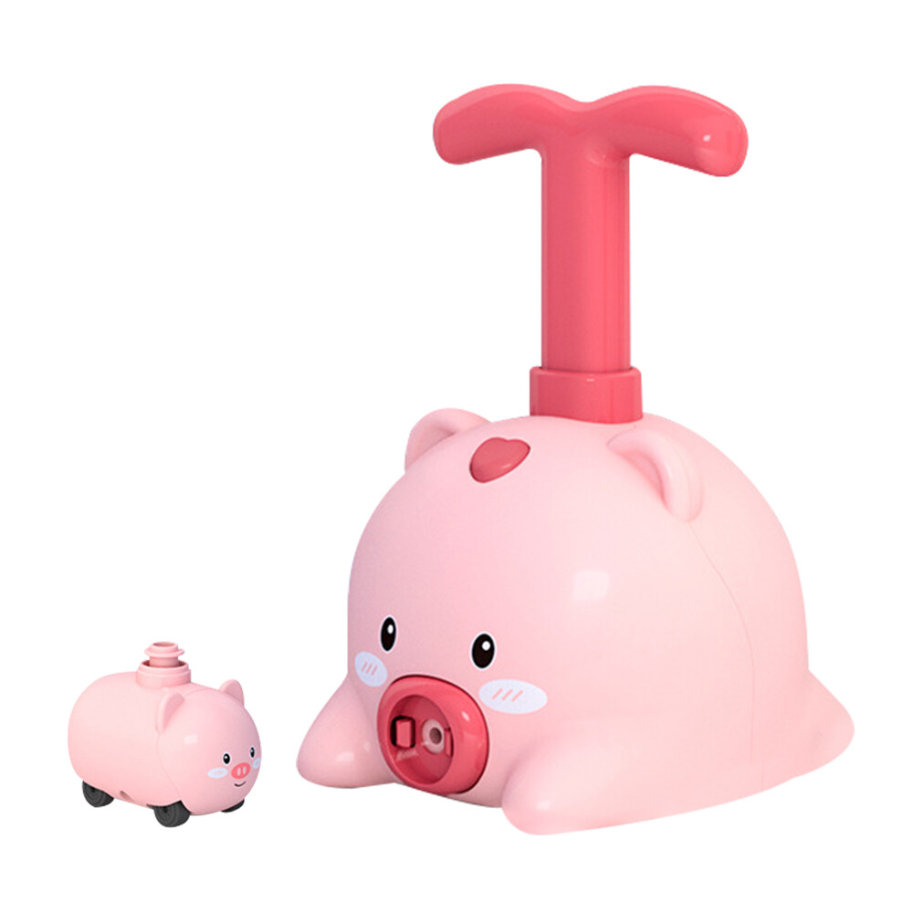 兒童玩具 氣壓式動力玩具車 打氣機 吹氣球 打氣車 益智玩具 發射器-kci4644