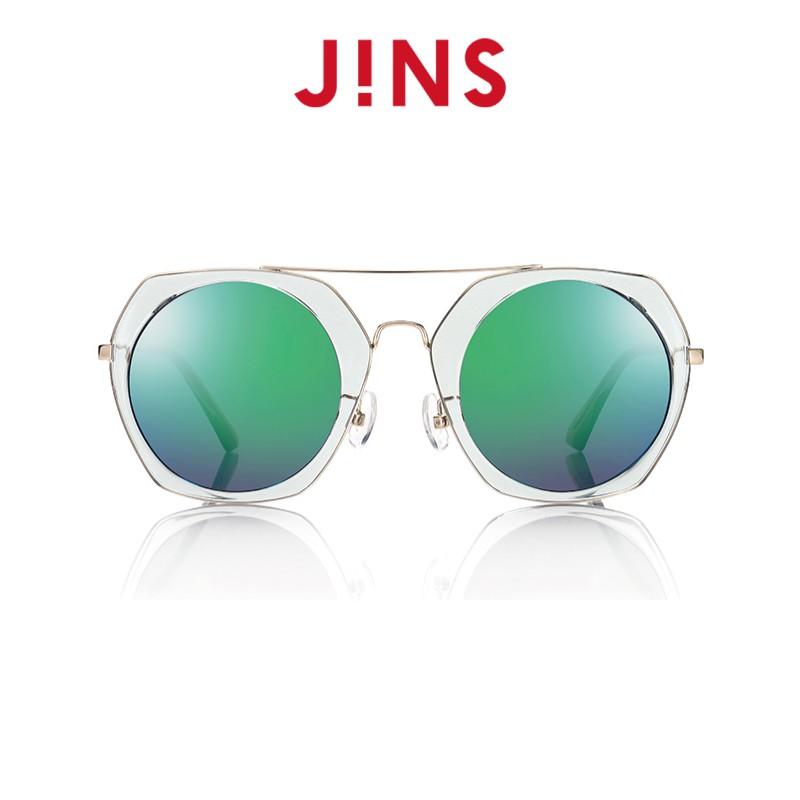 【JINS】帥氣飛行款太陽眼鏡(特ALRF17S827)淺灰