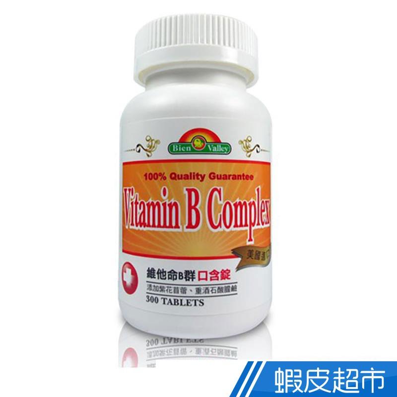 美國 培恩 維生素B群口含錠 300粒/瓶 維他命 營養補充 現貨 蝦皮直送