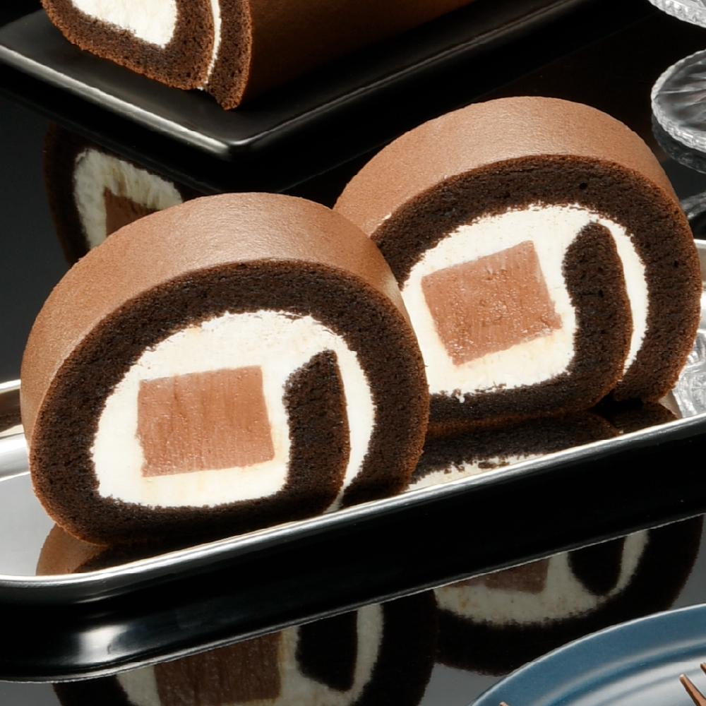 【亞尼克】巧克力雪糕生乳捲(單條組)