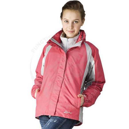 【意都美Litume】女款 防水透氣保暖外套.兩件式外套.夾克/Abletex+Primaloft/F7001 玫瑰紅