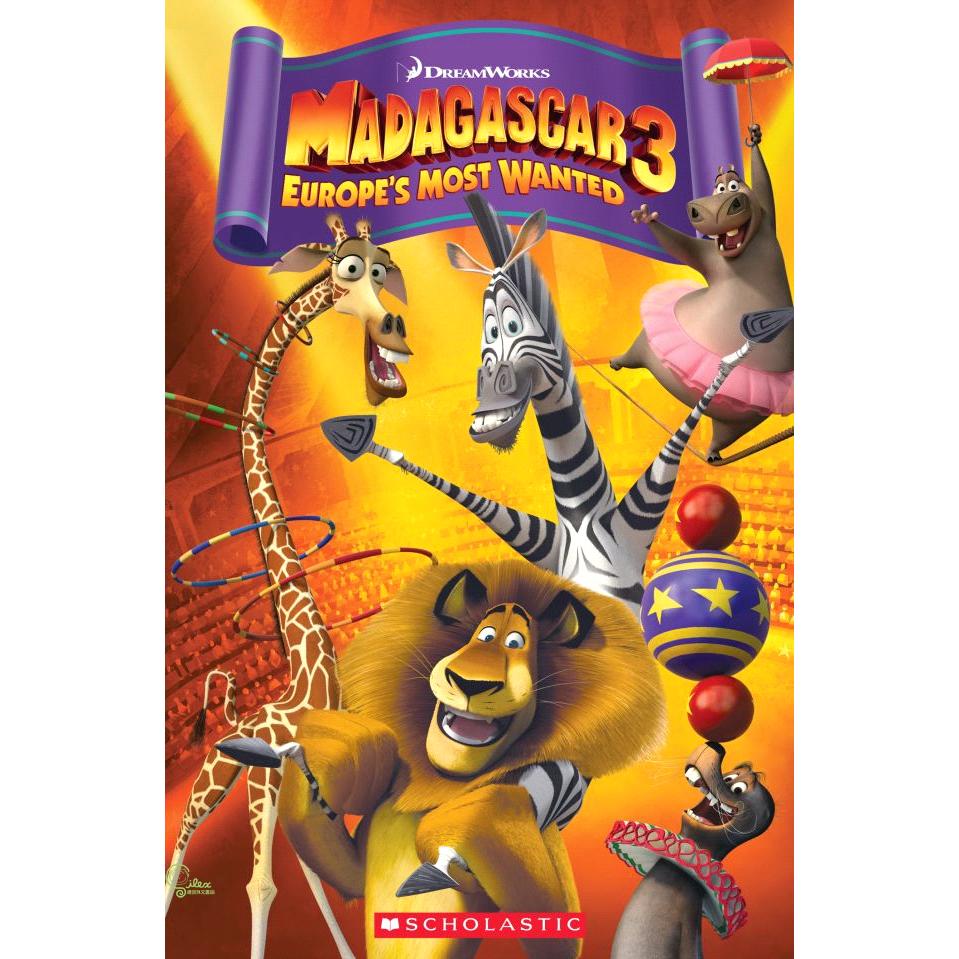 Madagascar 3: Europe's Most Wanted (1平裝+1CD)【禮筑外文書店】[9折]