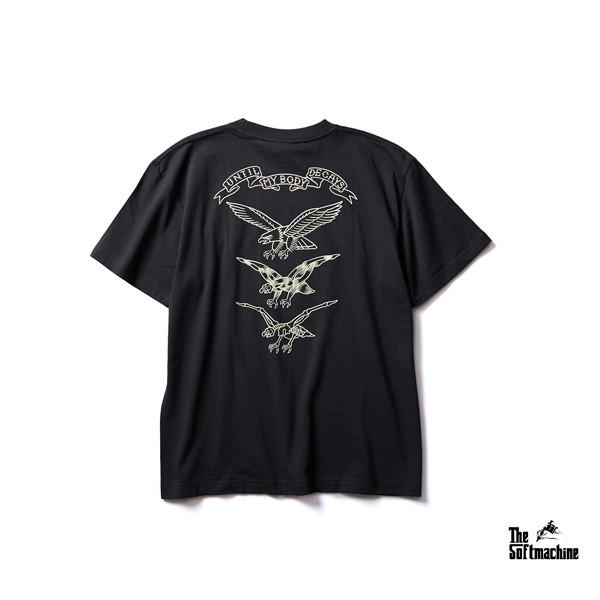 GOODFORIT / 日本Softmachine FRY T-Shirt老鷹形象上衣/兩色