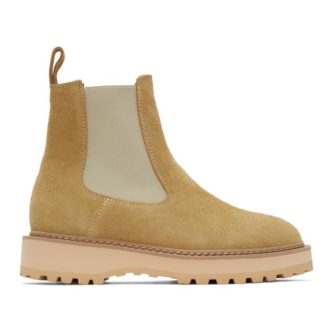Diemme 驼色 Alberone Desert Oasis 踝靴