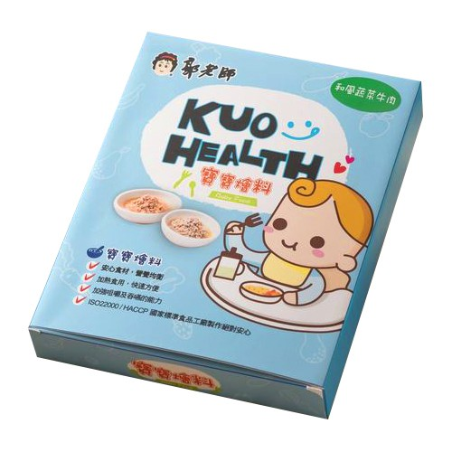 郭老師 寶寶燴料-和風蔬菜牛肉(2入/1盒)【衛立兒生活館】