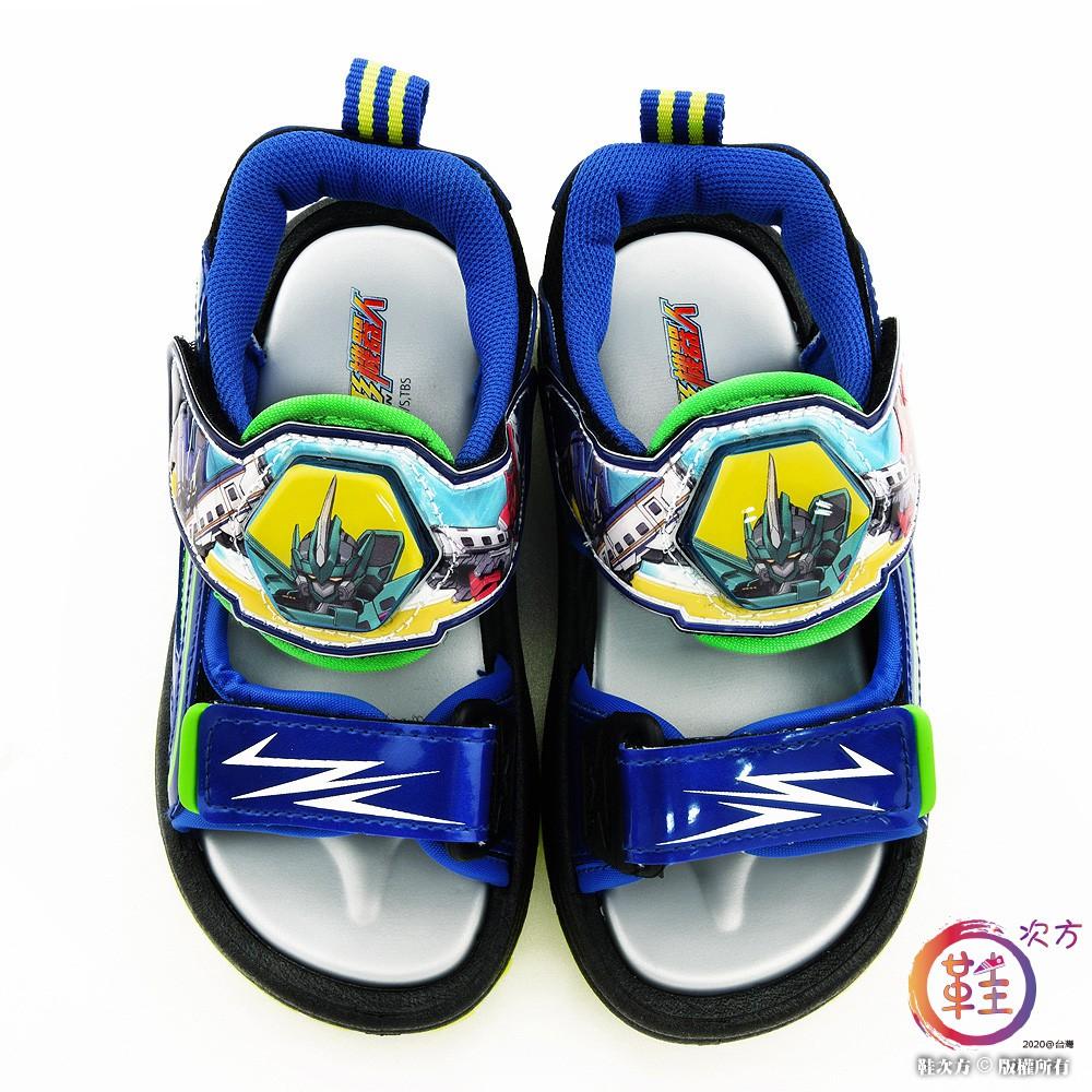 鞋次方 E5隼號 LED電燈涼鞋 新幹線變形機器人 SK3795