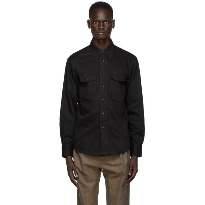 Lemaire 黑色 Western 衬衫