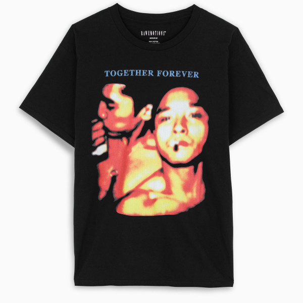 RAW EMOTIONS Black Together Forever t-shirt