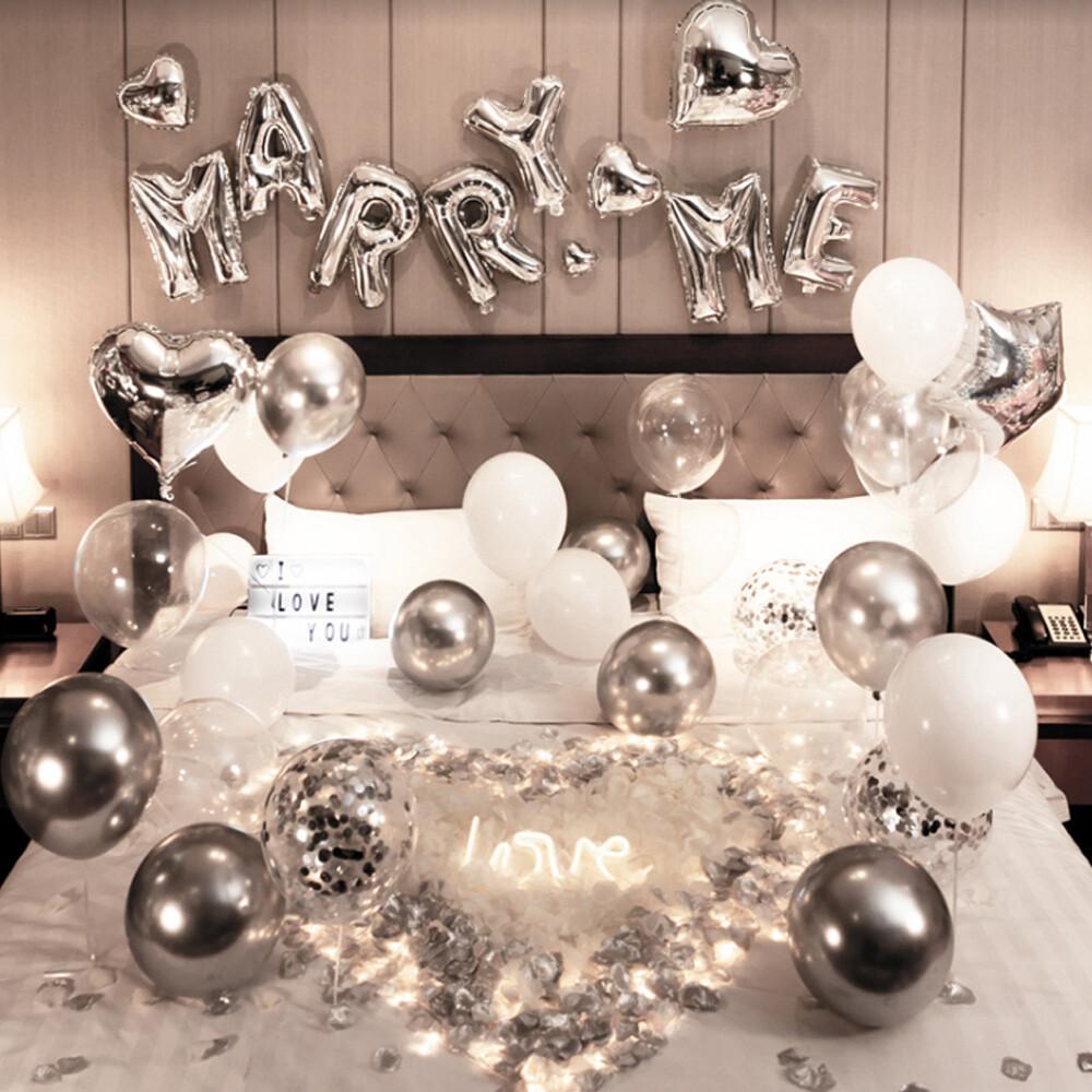 奢華驚喜求婚氣球套餐組