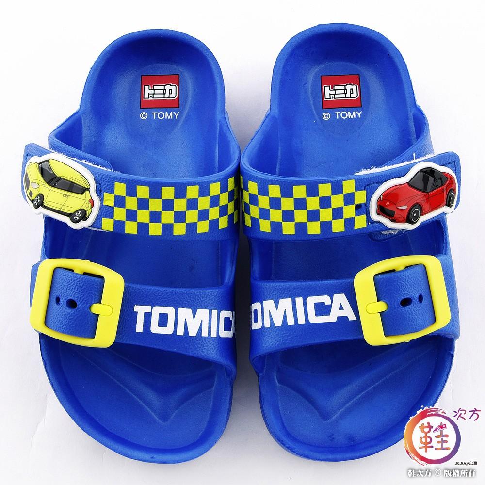 鞋次方 小車車輕量戶外拖鞋 Tomica多美小汽車 TM1820