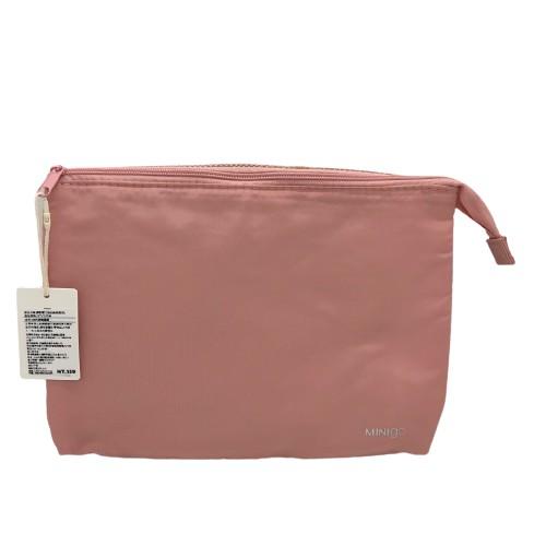 【MINISO名創優品】網眼雙口袋收納袋(粉色)